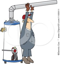 1105911-Clipart-Man-Installing-A-Hot-Water-Heater-Royalty-Free-Vector-Illustration